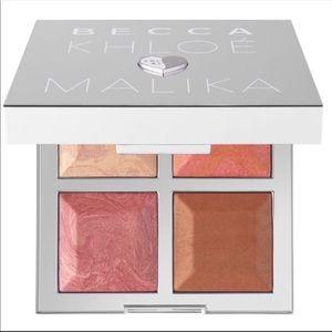 🆕 Becca Khloe & Malika Bronzer & Blush Palette